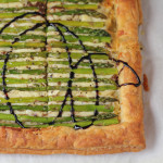Asparagus Gruyere Tart - Featured on The TODAY Show