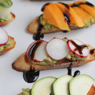 Avocado Crostini Three Ways!