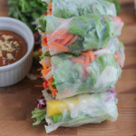 Entertaining with Asian Spring Rolls