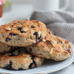 Gluten Free Blueberry Lemon Scones + A Giveaway!!