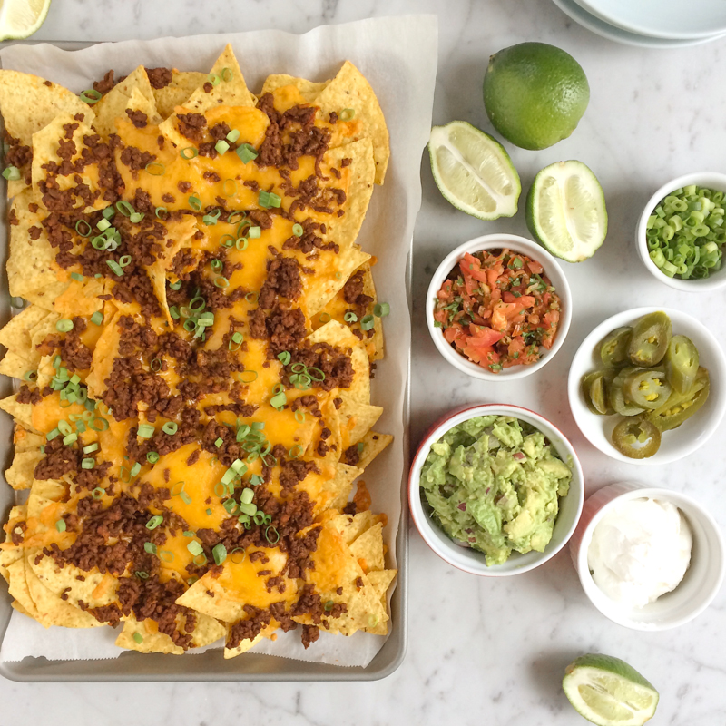 The Ultimate Beef Nachos