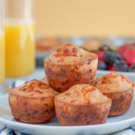 Cheddar Cheese Chive and Bacon Muffins