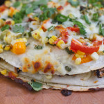 Corn and Black Bean Tortilla Tart