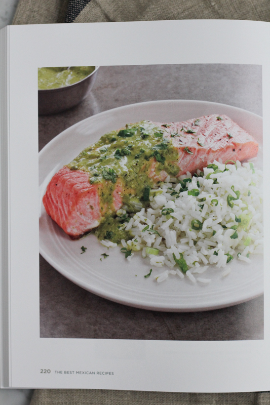 Salmon with Roasted Salsa Verde
