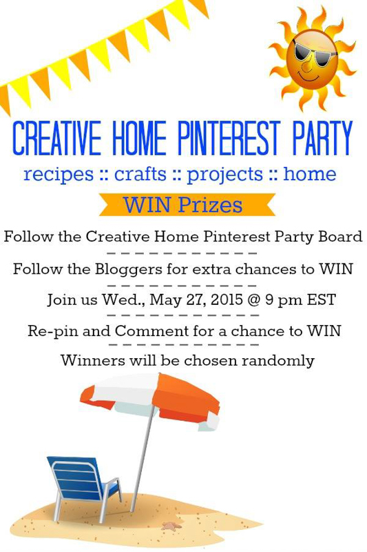 Pinterest Party!!! May 27th!