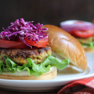 The Best Chickpea Burger Ever