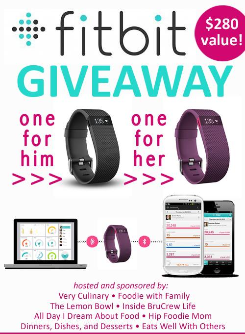 His and Hers FitBit Giveaway!