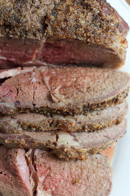 Learn how to properly cook a Prime Rib Roast. This is the perfect main dish for the holidays or even for an upcoming family gathering or special dinner! #ad
