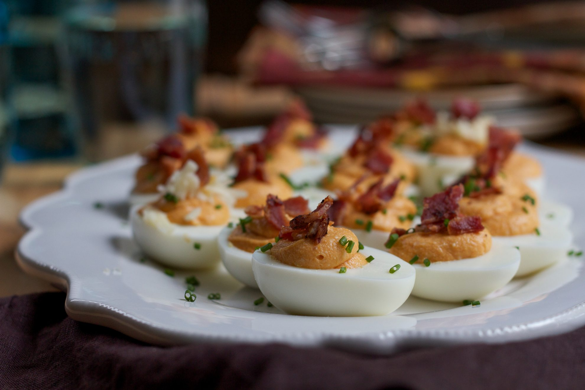Sweet potato deviled eggs for How to make homemade deviled egg potato salad