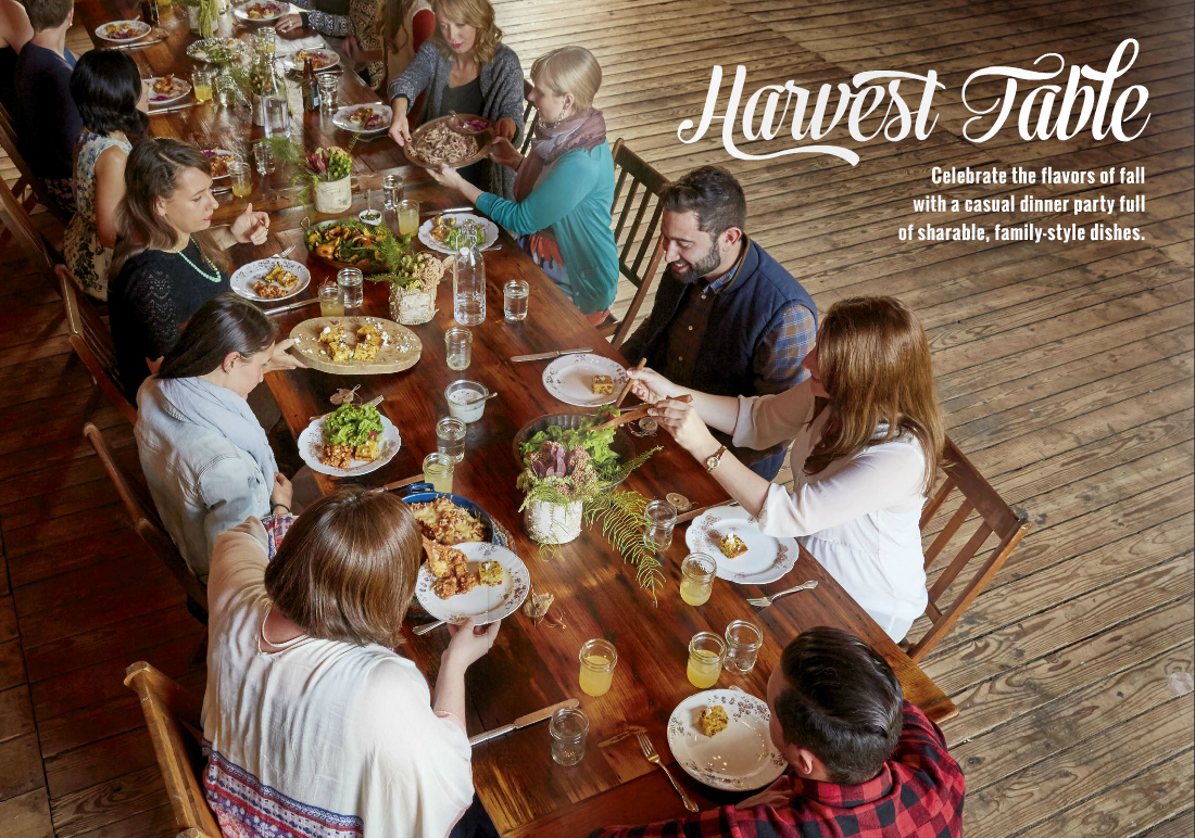 The Harvest Issue of Grate. Pair. Share. Featuring original recipes for weeknight meals and entertaining, easy cheese pairing tips and more! Download it today!
