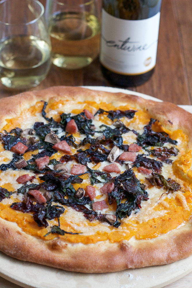 roasted butternut squash pizza recipe