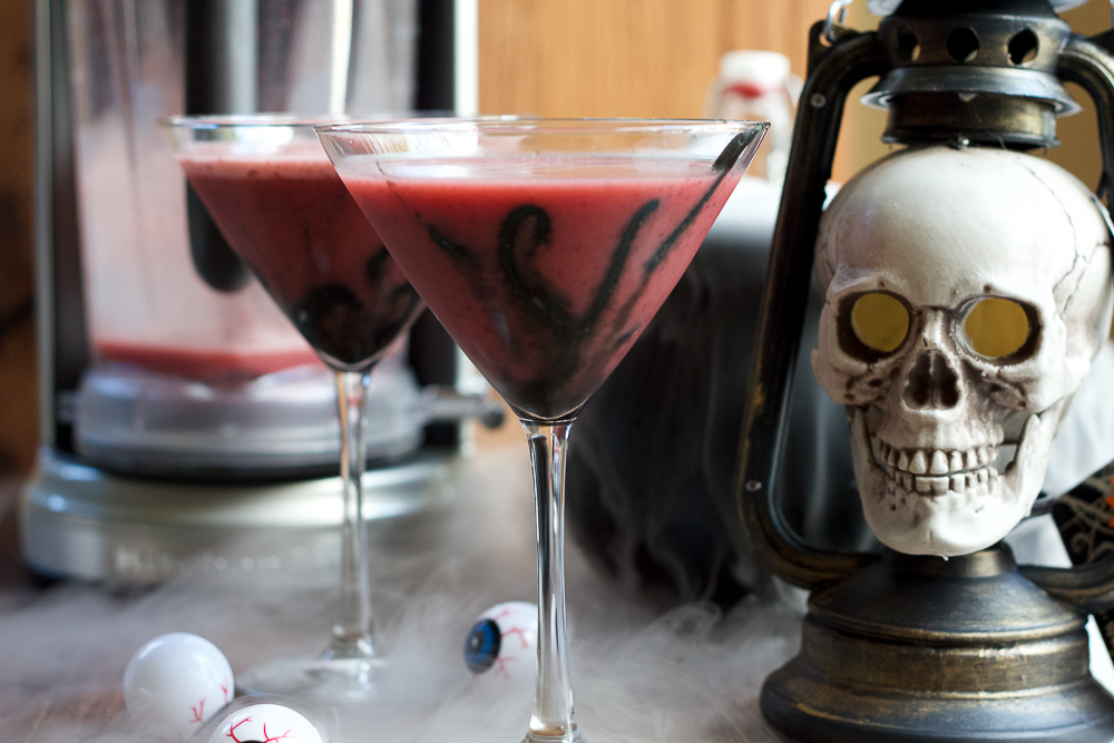 Need some Halloween cocktail inspiration? Try my Old Fashioned Spooooooky Ghoultini!!! This is my spin on an old fashioned with a twist!