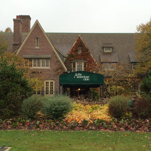 The American Club in Kohler, Wisconsin