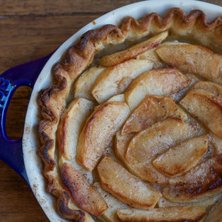 Brown Butter Apple Tart + A Giveaway!