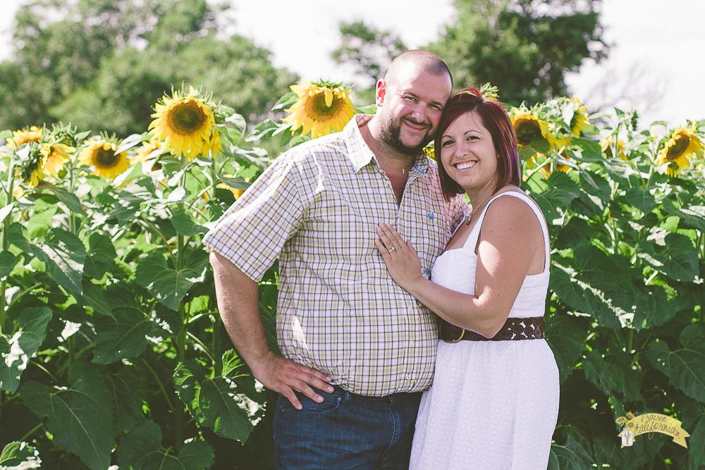Mark and Jenny Sunflowers-2