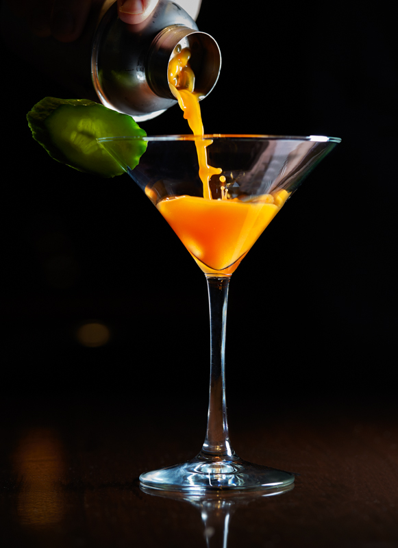 the american clubs carrot 43 martini and 24 cocktails for new years eve