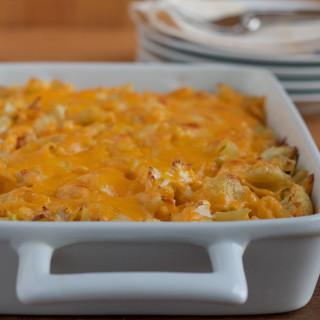 Spicy Cauliflower Mac and Cheese