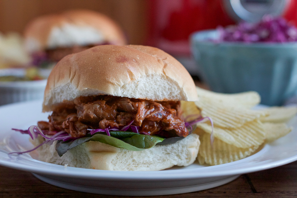 Delicious and flavorful Slow Cooker Pulled Pork Sandwiches . . let your slow cooker do all the work! Low and slow for 8 hours and you've got amazing.