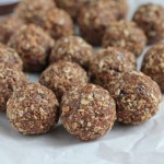 No Bake Almond Energy Bites