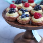 Mini Berry Tarts with Lemon Curd
