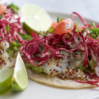Giada's Fish Tostadas with Citrus Salsa