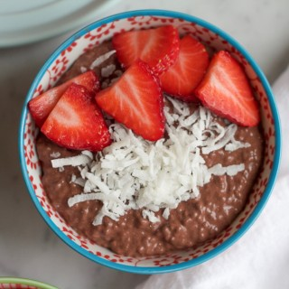 Chocolate Chia Breakfast Pudding + A Giveaway