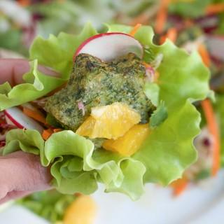 Kale and Potato Lettuce Cups