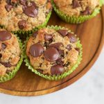 Healthy Wheat Almond Coconut Flaxseed Muffins