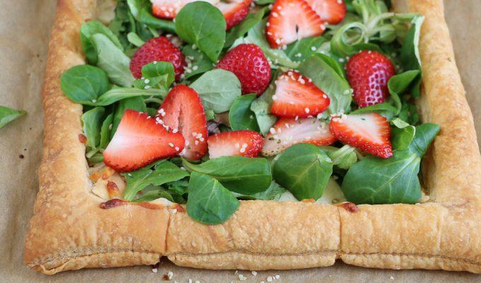 Strawberry Salad Tart