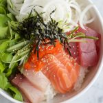 Sashimi Rice Bowl + A Video!