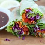 Spicy Asian Chicken Spring Rolls