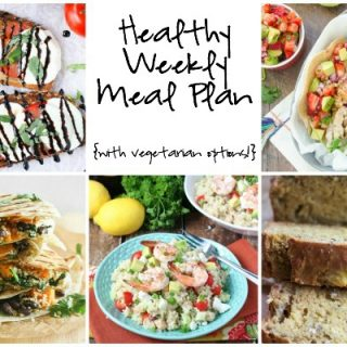 Healthy Weekly Meal Plan 6.18.16