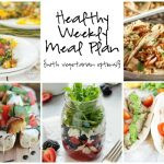 Healthy Weekly Meal Plan 7.2.16