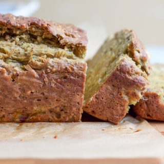 Avocado Banana Chia Bread