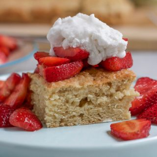 Vegan Strawberry Shortcake with Coconut Whipped Cream
