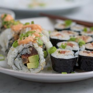 Spicy Tuna Roll + A Video!!