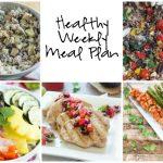 Healthy Weekly Meal Plan 7.23.16