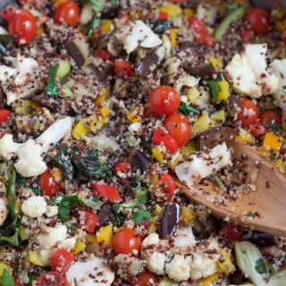 Summer Quinoa Salad + A Video!