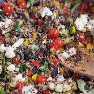 Summer Quinoa Salad + A Video!