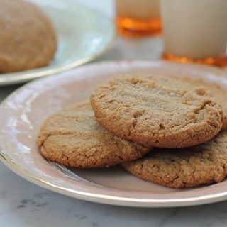 Peanut Butter Sea Salt Cookies + A Giveaway!