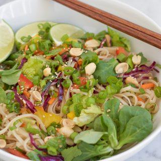 Spicy Korean Noodle Salad