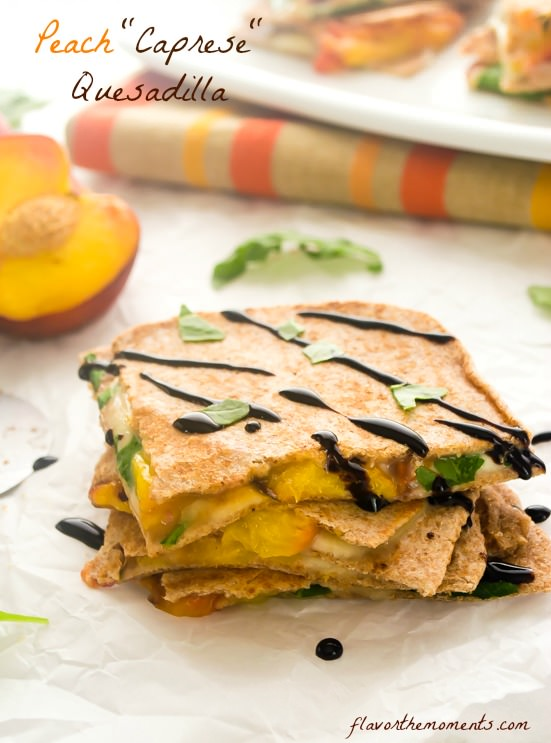 peach-caprese-quesadilla