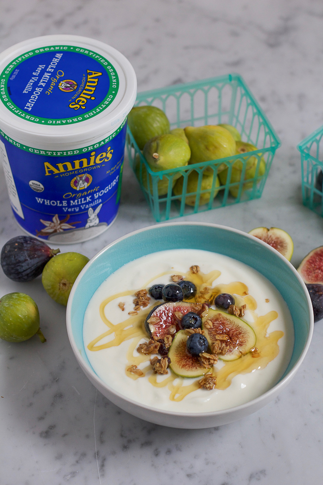 Frozen Berry Yogurt Bites!! Made with Annie's Homegrown NEW Organic Whole Milk Yogurt Tubes! A delicious, fun addition to your breakfast or after school snack. Your family will love these!