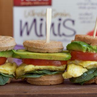 Mini Waffle Breakfast Sandwiches + A Video!