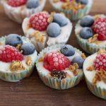 Frozen Berry Yogurt Bites + A Video!
