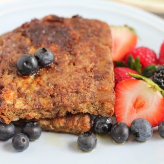 Cinnamon Flaxseed French Toast