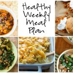 Healthy Weekly Meal Plan 10.22.16