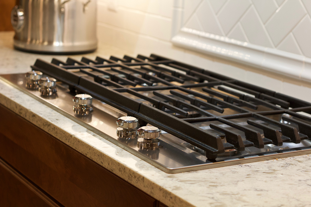 "KitchenAid 36"" 5-Burner Gas Cooktop"