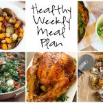 Healthy Weekly Meal Plan 11.19.16