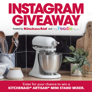 KitchenAid Mini Stand Mixer Giveaway!